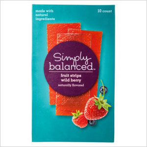 Simply Balanced Wild Berry Fruit Strips