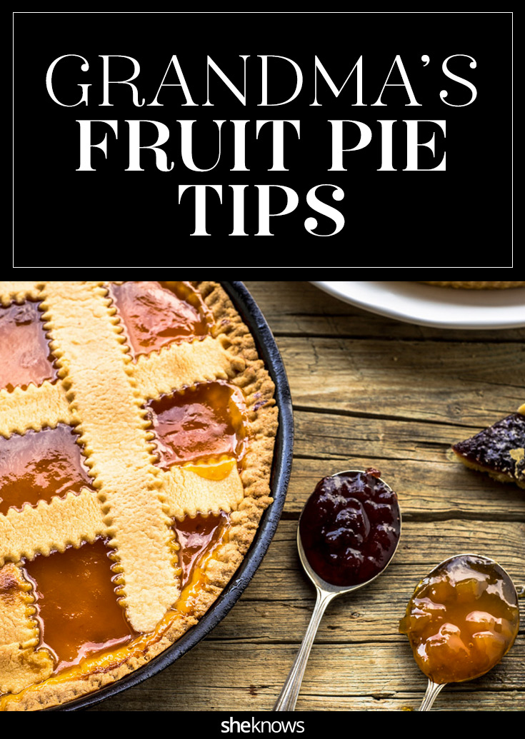 fruit pie tips
