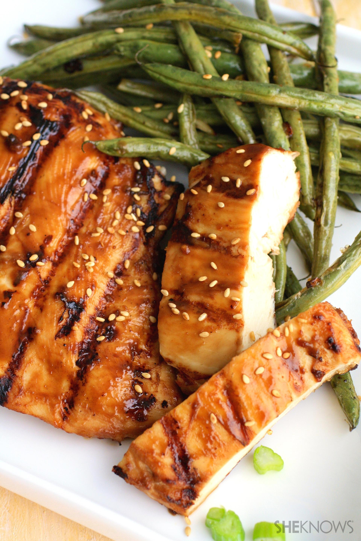 Gluten-free hoisin chicken and green beans