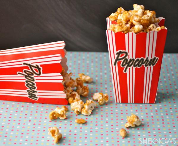 Gluten-free Goodie of the Week: Peanutty caramel corn