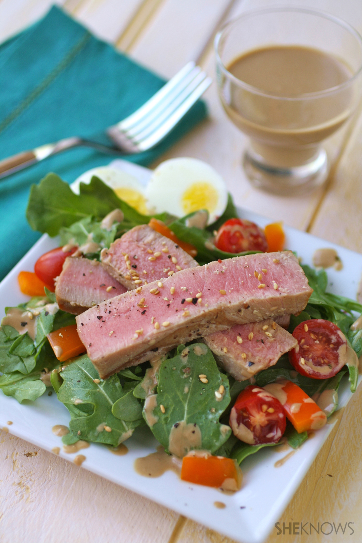 gluten-free grilled tuna salad