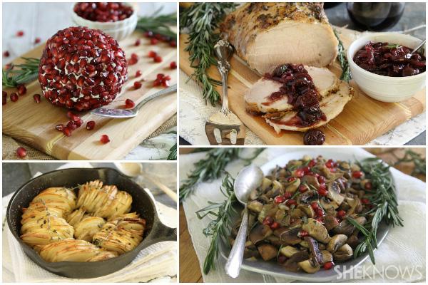 Gluten-free Christmas menu