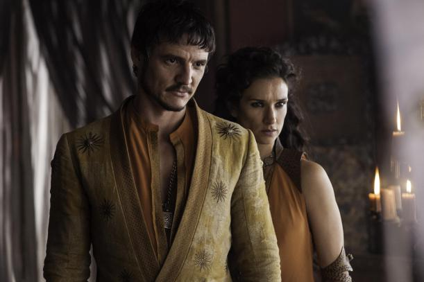 Prince Oberyn and Ellaria in Game of Thrones