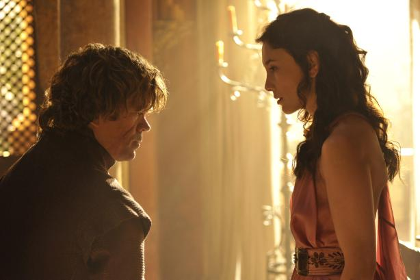 Tyrion and Shae in Game of Thrones