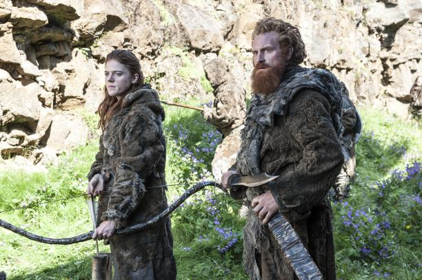 Ygritte and the wildlings in Game of Thrones