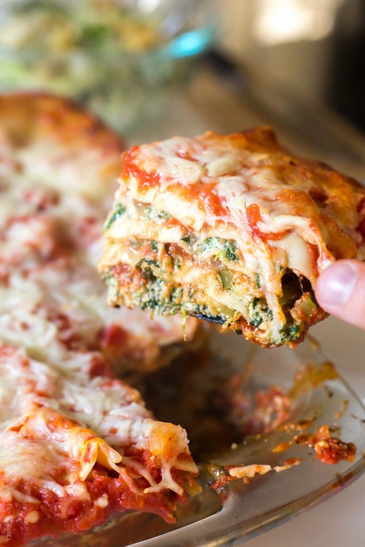 13 Make-Ahead Freezer Meals for Nights When You Just Can't: Garden Vegetable Lasagna