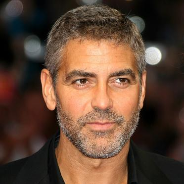 Celebrity bachelor George Clooney