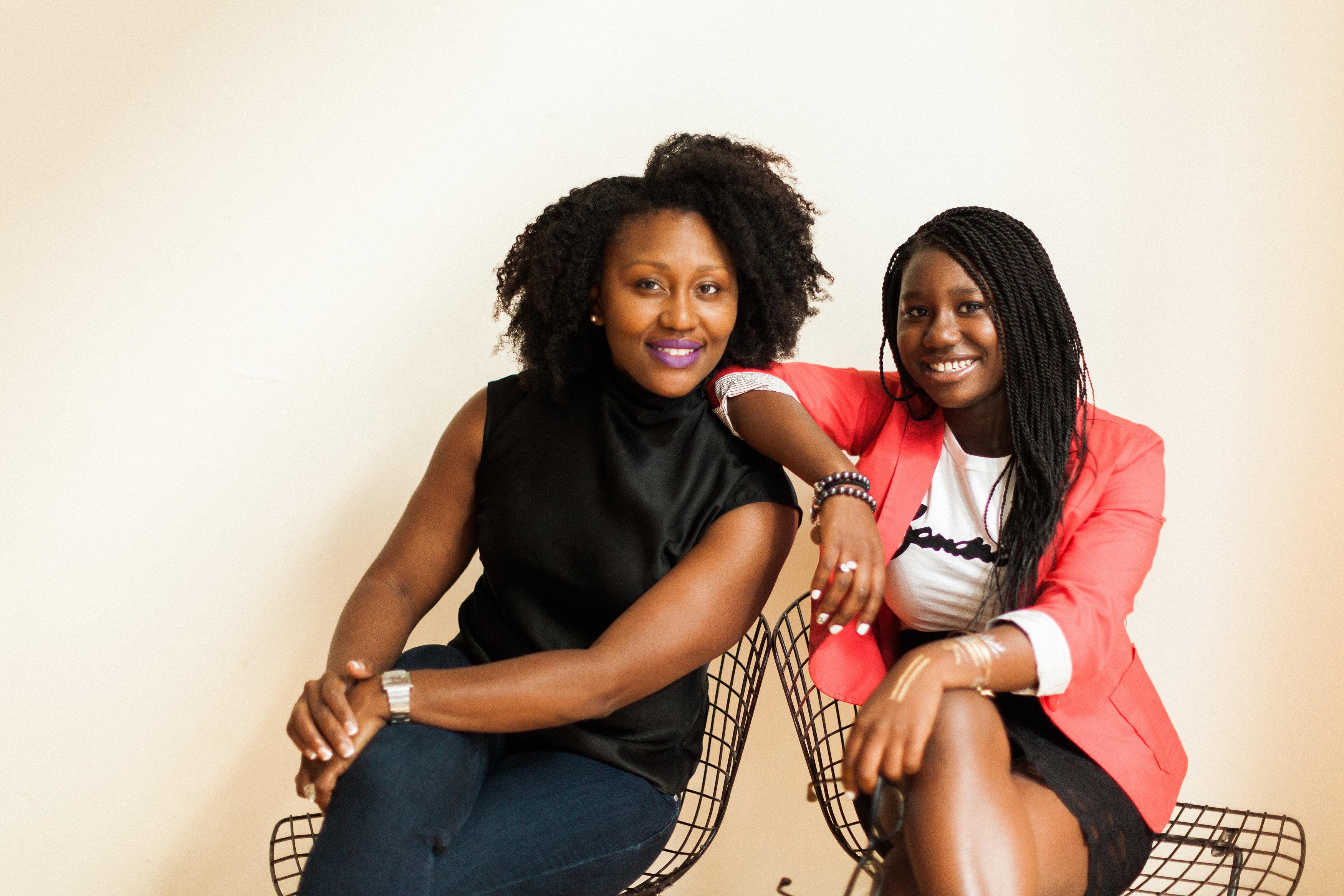 Raising Tiny Business Moguls: Tamara Zantell & daughter Zandra Azariah Cunningham