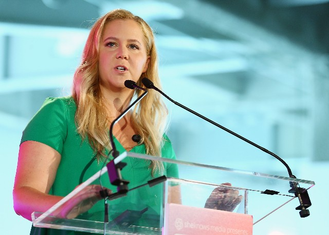 Amy Schumer attends #BlogHer18 Creators Summit at Pier 17