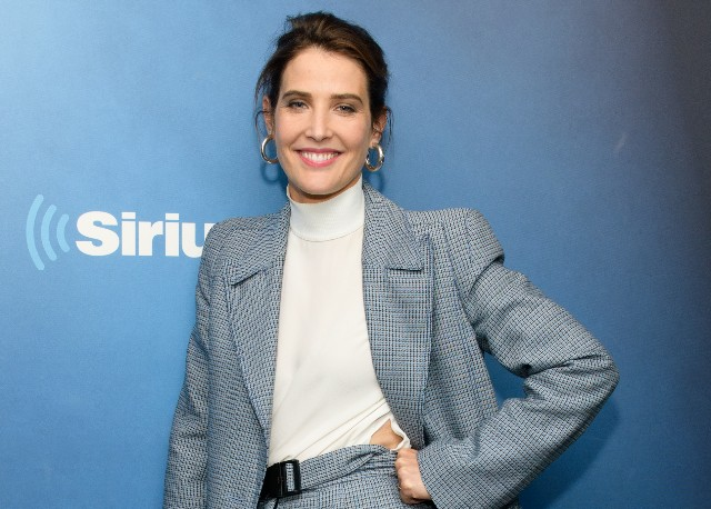 Cobie Smulders visits the 'Morning Mash Up' at the SiriusXM Studios