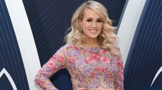 Carrie Underwood attends the 52nd annual