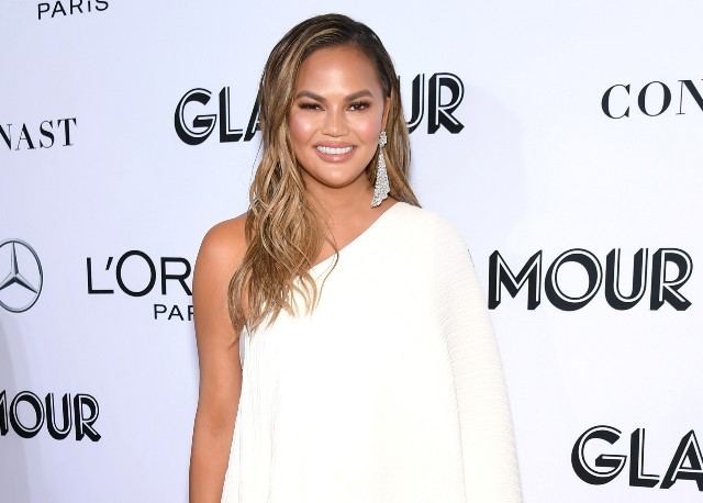 Chrissy Teigen attends Glamour Women of the Year Awards 2018
