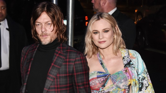 Norman Reedus and Diane Kruger are