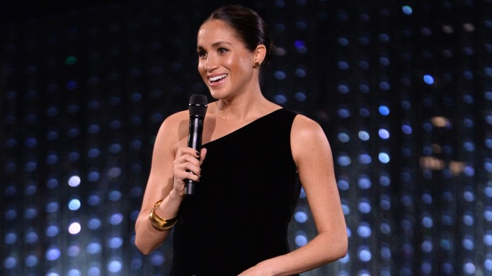 Meghan, Duchess of Sussex on stage