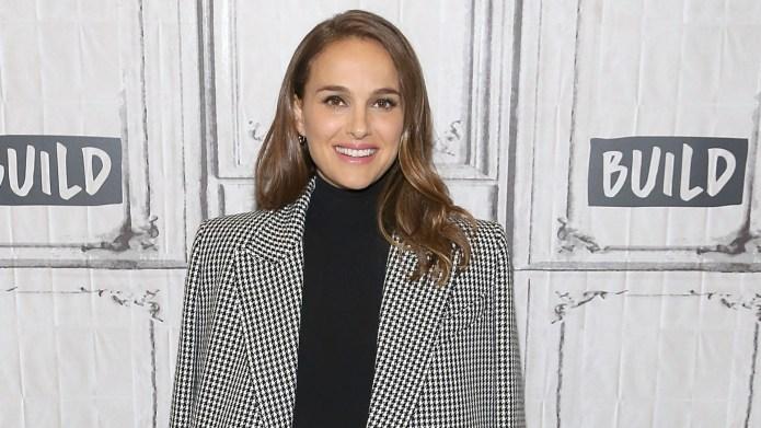 Natalie Portman visits Build Series to