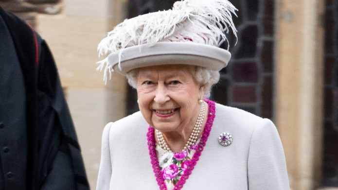 Queen Elizabeth II attends Christmas Day