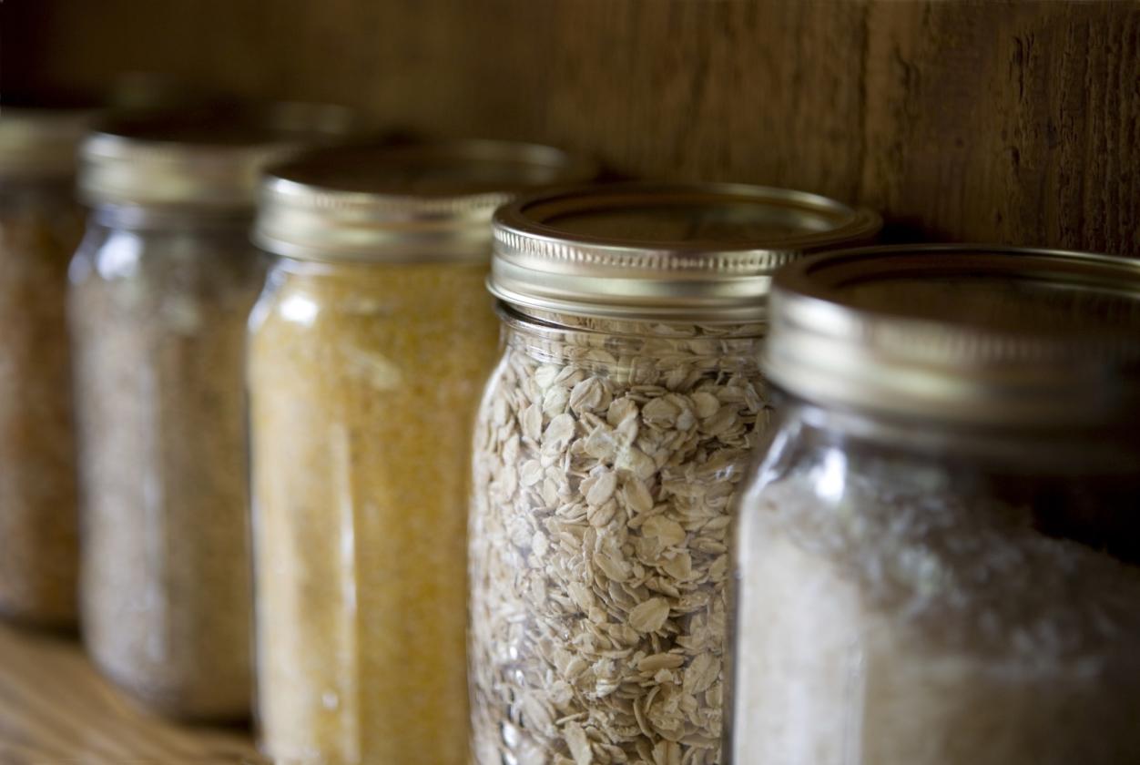 mason jar baking supplies