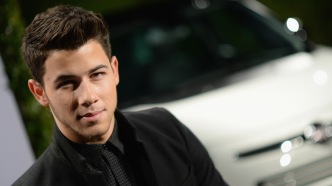 photo of nick jonas red carpet