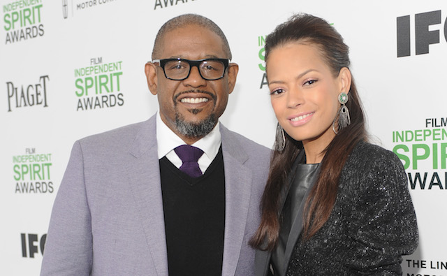 Forest Whitaker and Keisha Nash at the Independent Spirit Awards