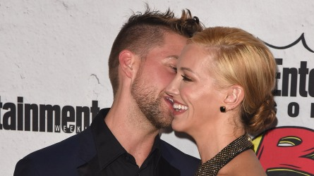 Katie Cassidy and Matthew Rodgers at