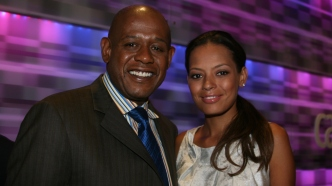 photo of forest whitaker and keisha