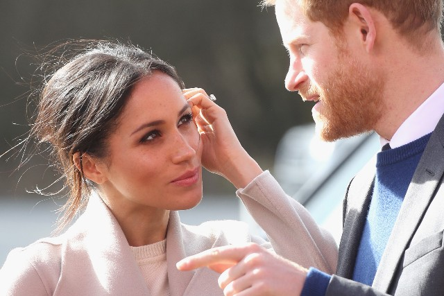 Prince Harry and Meghan Markle visit the Eikon Centre and attend an event to mark the second year of the youth-led peace-building initiative 'Amazing the Space'