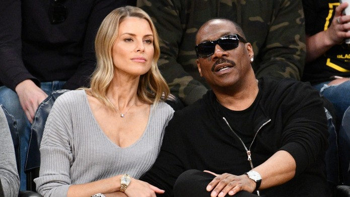 Eddie Murphy and actress Paige Butcher