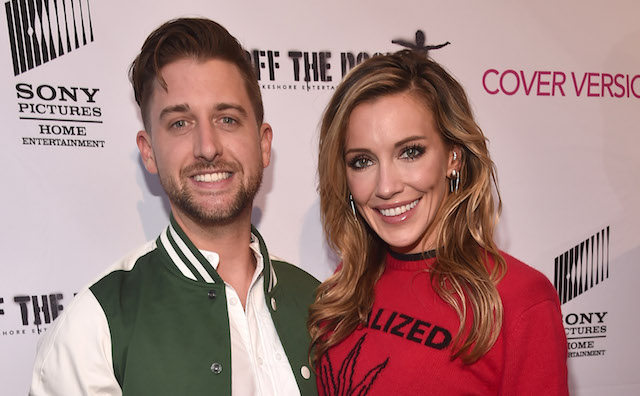 "Katie Cassidy & Matthew Rodgers at premiere of ""The Dock"""