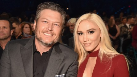 Blake Shelton & Gwen Stefani attend