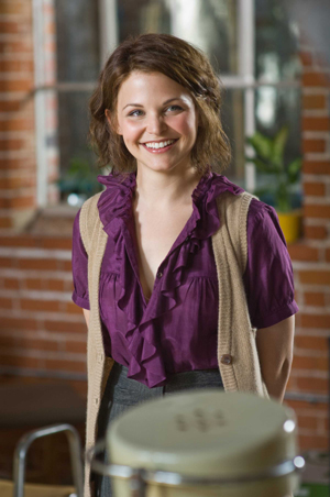 Ginnifer Goodwin is all smiles over He's Just Not That Into You