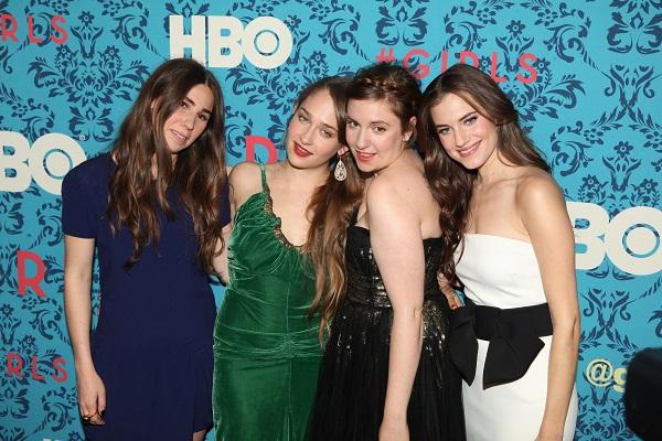 Cast of HBO's Girls