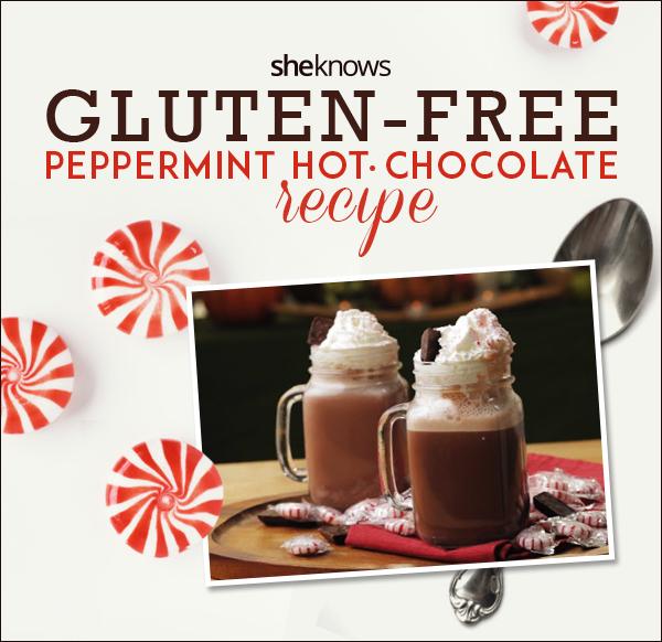 gluten-free peppermint hot chocolate recipe