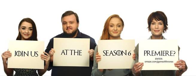 Game of Throne cast supports the IRC
