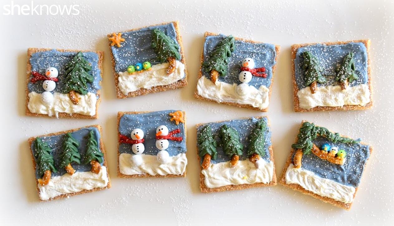 Graham-cracker-winter-scenes-treat