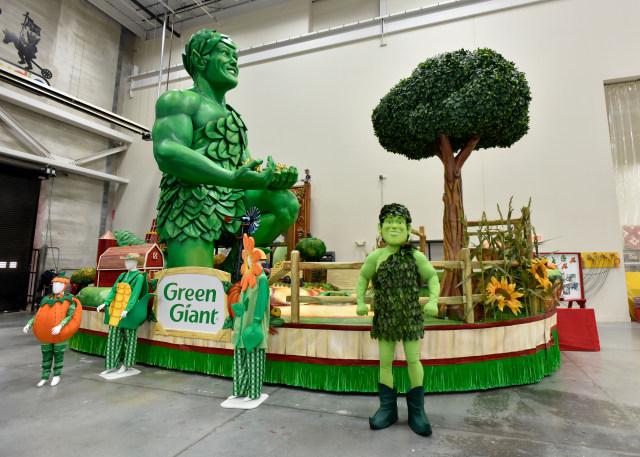 Green Giant Macys Parade