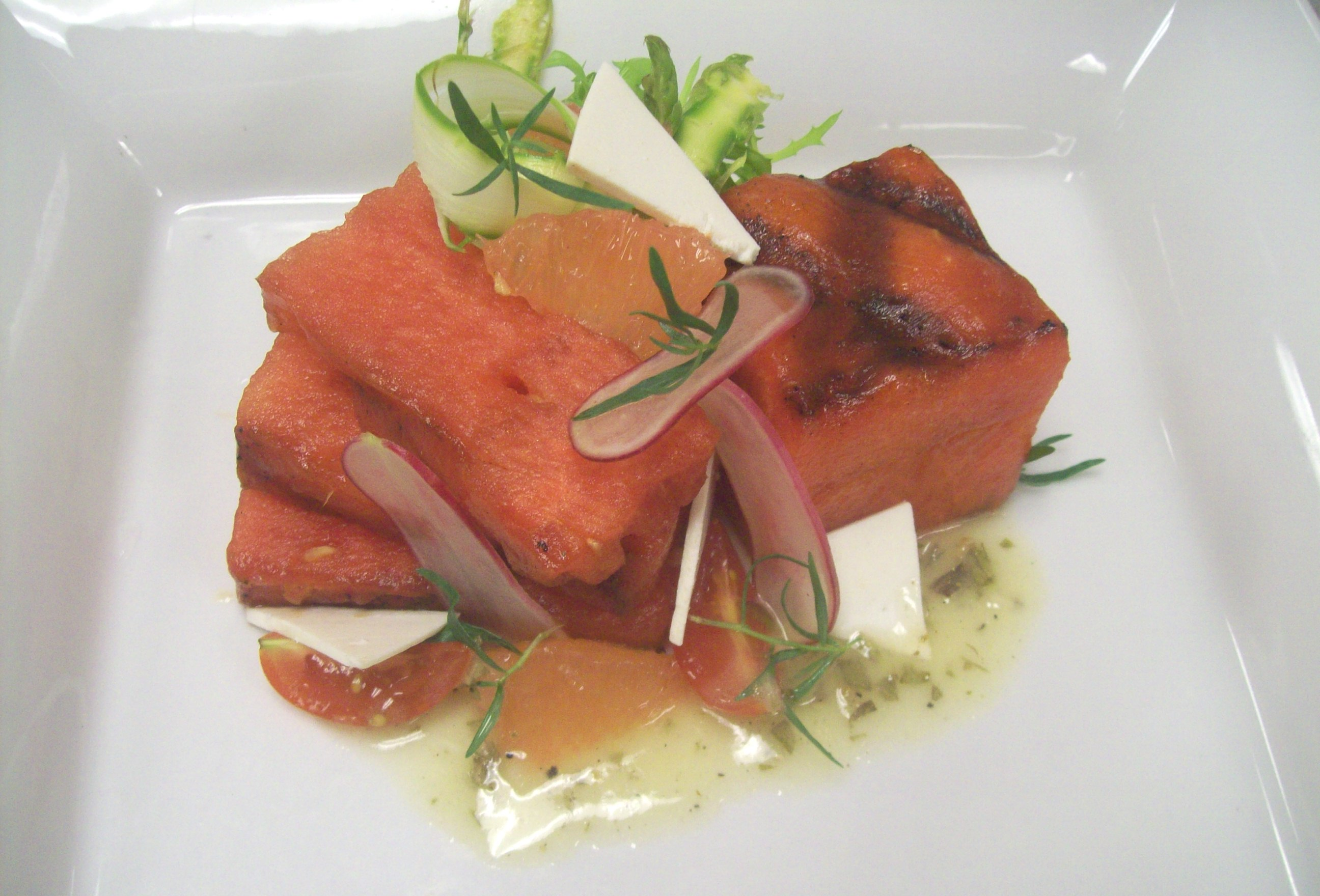 Grilled Watermelon Salad from 606 Congress