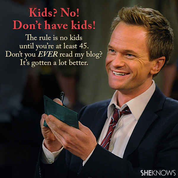 Barney's best quotes from How I Met Your Mother – Page 5 – SheKnows
