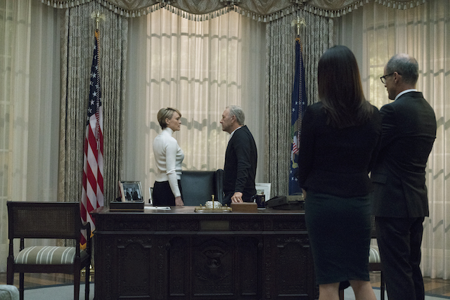 House of Cards S5 Underwoods Oval