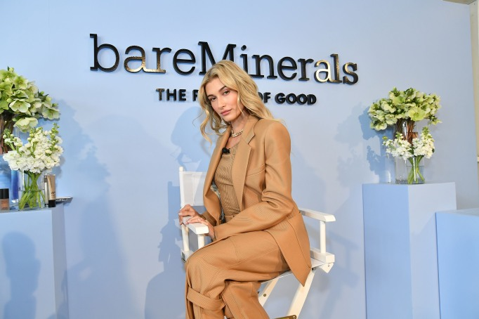 - Los Angeles, CA - 02/06/2018 - bareMinerals Clean Beauty Ambassador Hailey Bieber hosts #StickWithClean Masterclass to celebrate the launch of the new Complexion Rescue Hydrating Foundation Stick SPF 25. -PICTURED: Hailey Bieber -PHOTO by: Michael Simon/startraksphoto.com -MS63281 Editorial - Rights Managed Image - Please contact www.startraksphoto.com for licensing fee Startraks Photo Startraks Photo New York, NY For licensing please call 212-414-9464 or email sales@startraksphoto.com Image may not be published in any way that is or might be deemed defamatory, libelous, pornographic, or obscene. Please consult our sales department for any clarification or question you may have Startraks Photo reserves the right to pursue unauthorized users of this image. If you violate our intellectual property you may be liable for actual damages, loss of income, and profits you derive from the use of this image, and where appropriate, the cost of collection and/or statutory damages.