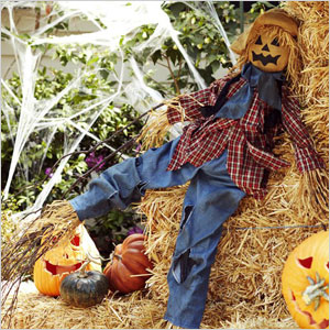 Halloween Scarecrow Object
