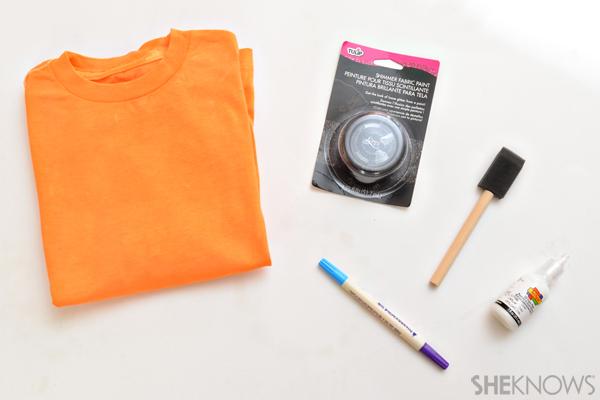 Halloween T-shirt materials