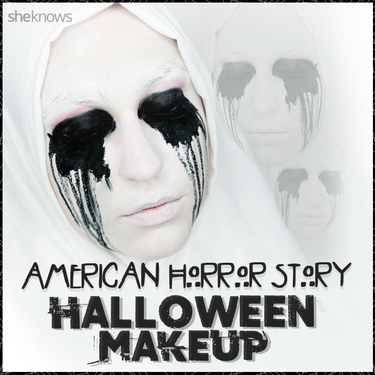 American Horror Story Halloween tutorial