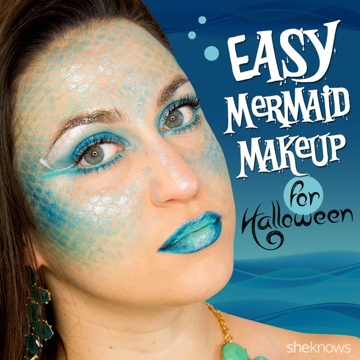 How to Totally Master Instagram\u0027s Halloween Mermaid Makeup
