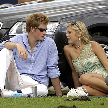 Harry and Chelsy Davy in happier days