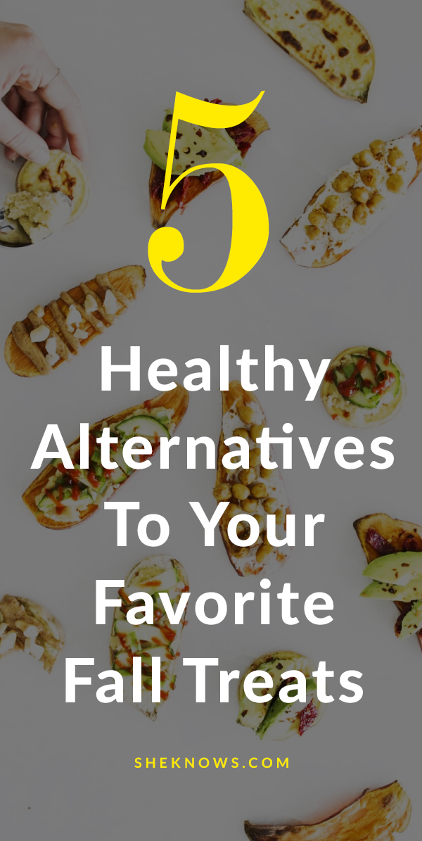 5 healthier alternatives for your favorite fall treats