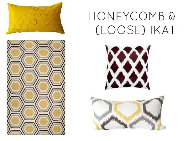Honeycomb and (loose) ikat