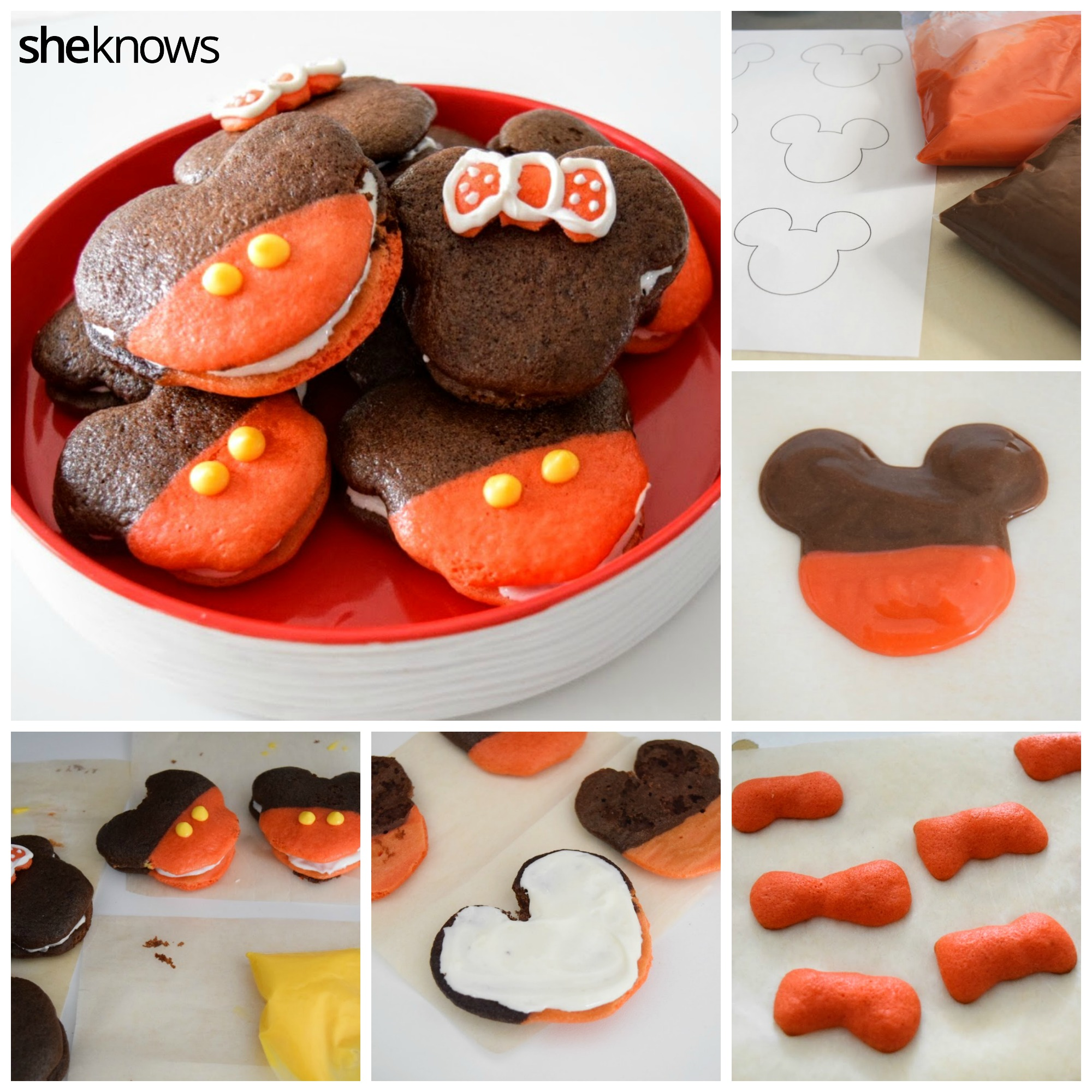 How to Make Mickey Whoopie Pies