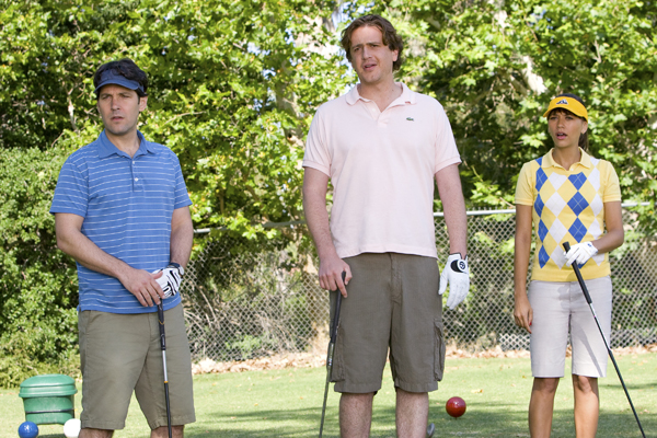 Paul Rudd, Jason Segel and Rashida Jones tee off in I Love You, Man