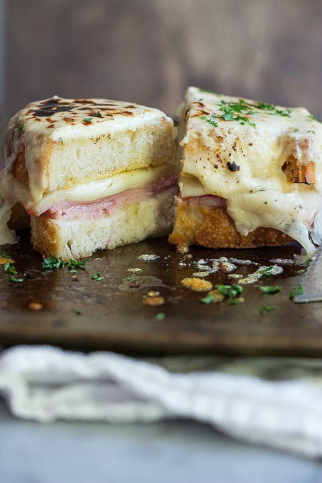 croque grilled cheese