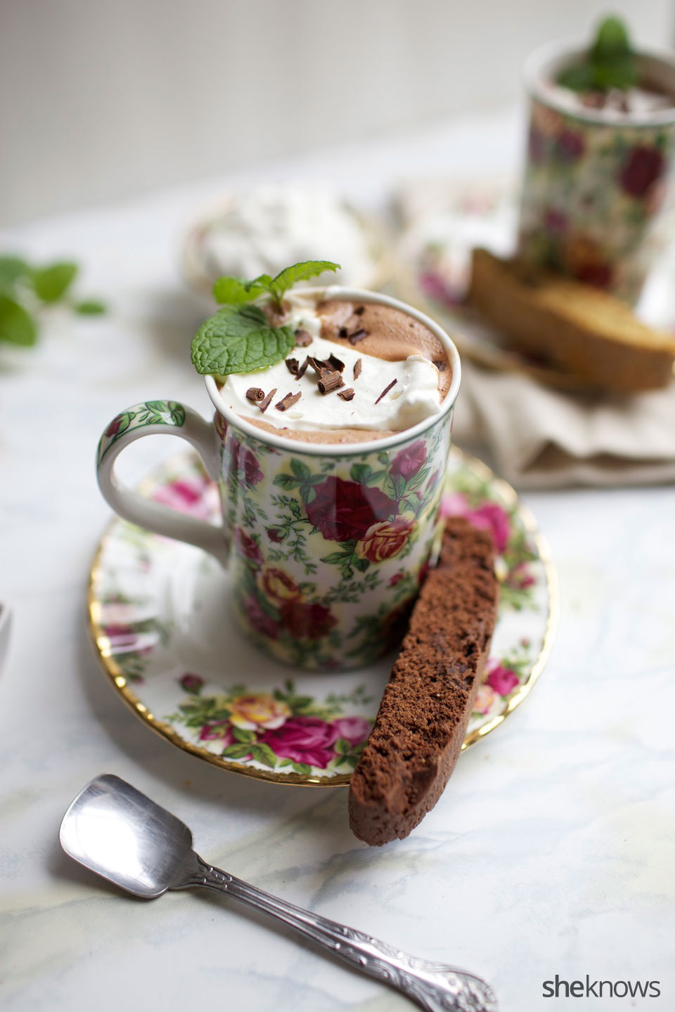 French Style Hot Chocolate 1